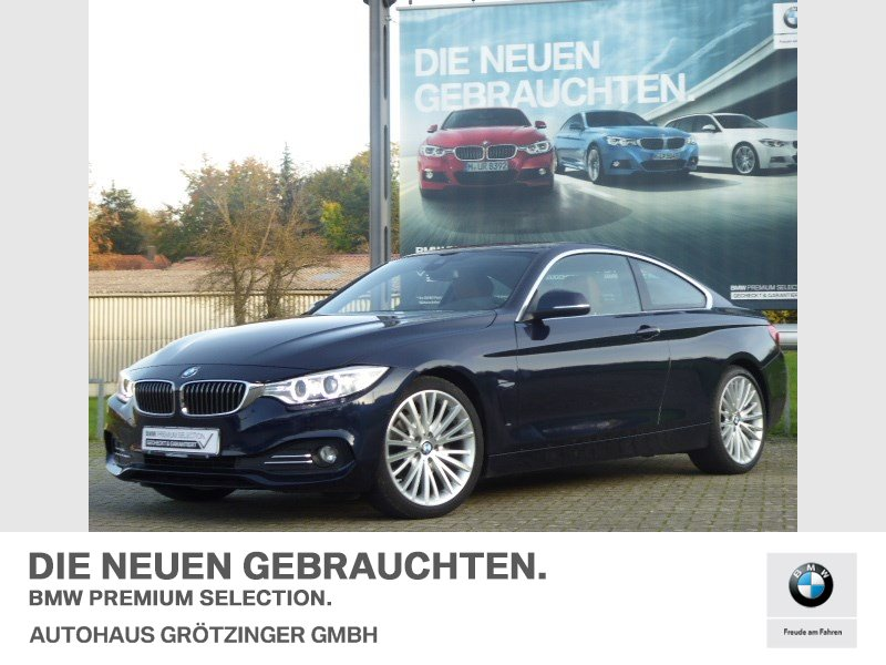 BMW 420d Coupé LUXURY+LEDER+HUD+19 Zoll-LM-Felgen, Jahr 2016, Diesel