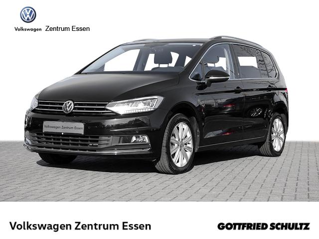 Volkswagen Touran Highline 1,5 TSI 7-Sitzer NAVI LED AHK KAMERA ALU17, Jahr 2019, Benzin
