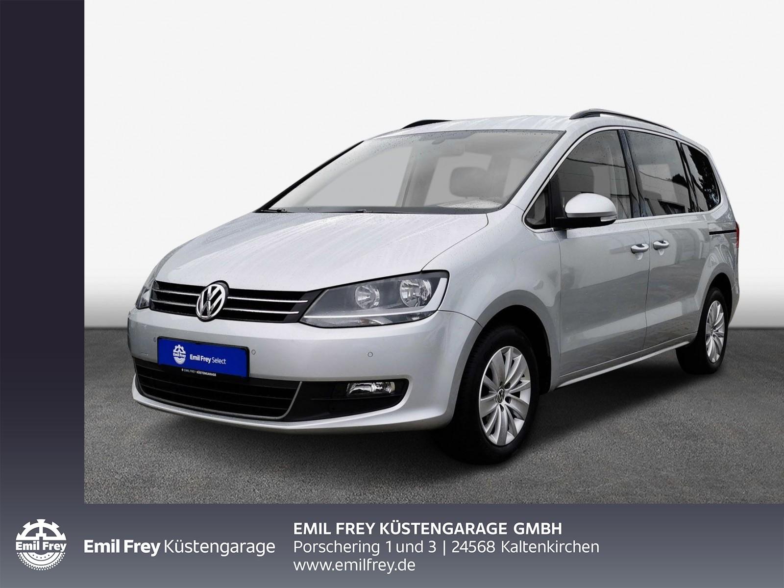 Volkswagen Sharan 1.4 TSI DSG BMT Comfortline Navi Ganzjahresreifen, Jahr 2013, Benzin