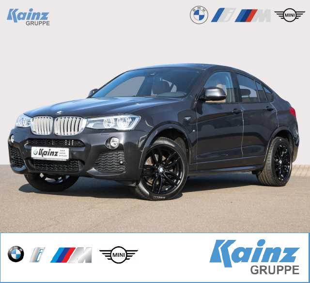 BMW X4 xDrive35d Aut. M Paket/Navi Prof./HUD/Leder/Adaptive LED/Driving Ass./Komfortzugang/RFK, Jahr 2016, Diesel