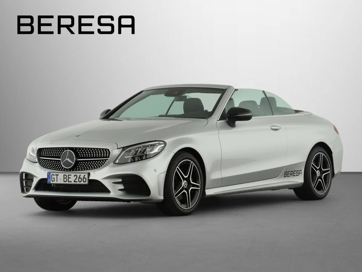 Mercedes-Benz C 200 AMG Comand Spur-P. Night LED Kamera PDC, Jahr 2020, Benzin