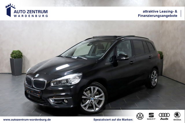BMW 220 Gran Tourer Aut. Luxury Line HEADUP LED PANO, Jahr 2015, Benzin