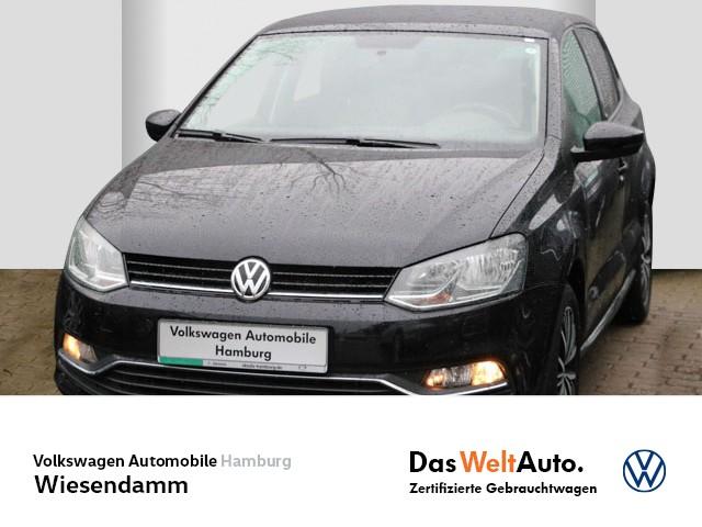 Volkswagen Polo 1.0 Allstar PDC Klimaautomatik LM, Jahr 2016, Benzin