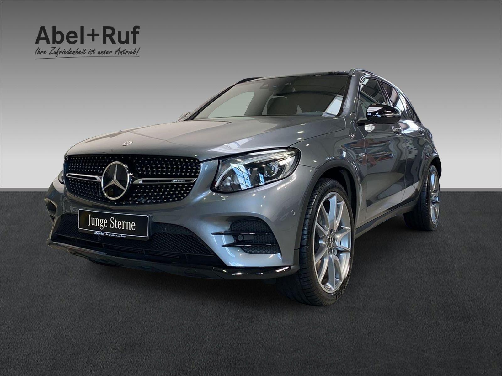Mercedes-Benz GLC 43 AMG+Standhzg+Distronic+Kamera+Pano+21, Jahr 2017, Benzin