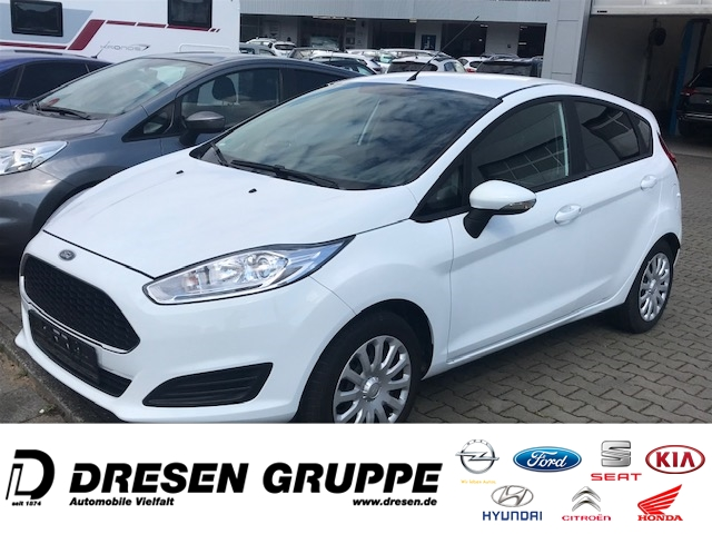 Ford Fiesta 1.25-/5-türig/Klima/RadioCD/ZV/elektr.Fenster/BC FOTOS FOLGEN!!!, Jahr 2017, Benzin