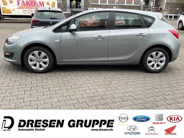 Opel Astra AUTOMATIK-6Gang/Lim-5türig-1.6i+Alu-LMF Navi+IntelliRadioCD+ZV+ELFH+Tempomat+Metallic, Jahr 2015, Benzin