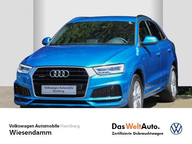 Audi Q3 2.0 TFSI S-tronic quattro sport S-LINE Tempomat Klimaautomatik LED Navi Xenon, Jahr 2018, Benzin