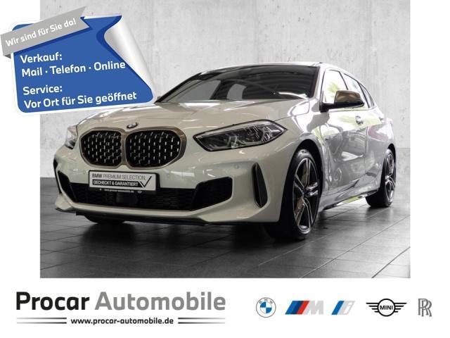 BMW M135i xDrive + LIVE COCKPIT PLUS + SHZ+FIN ab 1%, Jahr 2020, Benzin