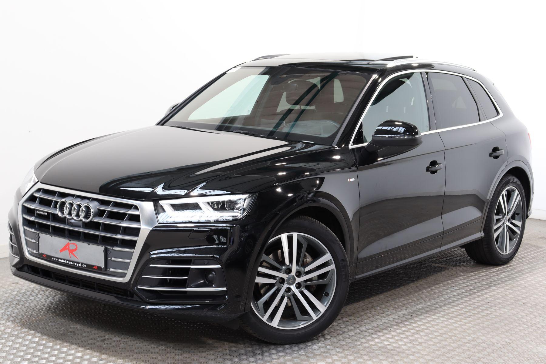 Audi Q5 2.0 TFSI qu 3x S LINE SPORT HUD,360GRAD,LUFT, Jahr 2017, Benzin