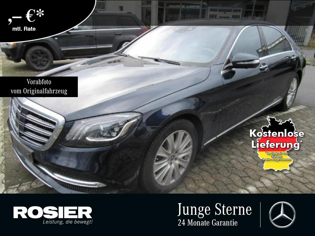 Mercedes-Benz S 560 4M L Exklusiv FirstClass Burm AHK Standhz., Jahr 2018, Benzin