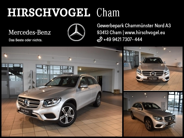Mercedes-Benz GLC 220 d 4M OFF-ROAD Ext.+DISTRON+HUP+EASY-PACK, Jahr 2016, Diesel