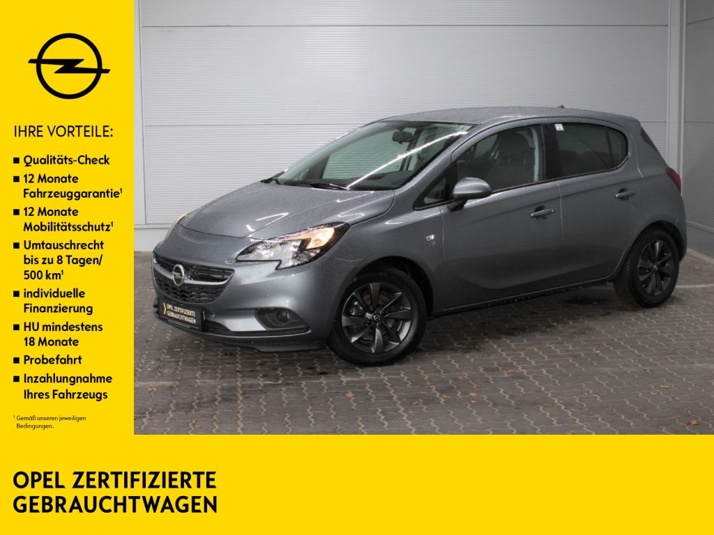 Opel Corsa E 1.4 120 Jahre Kamera PDC v+h heizb WSS, Jahr 2019, Benzin