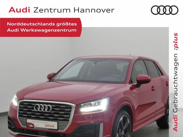 Audi Q2 1.4 TFSI LED, Navi, Leder, 19-Zoll, PDC, Jahr 2017, Benzin