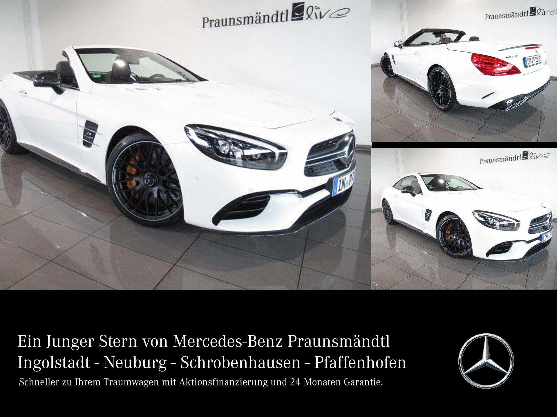Mercedes-Benz SL 63 AMG -34% Keramik/DISTRONIC/Vmax/B&O/Carbon, Jahr 2018, Benzin