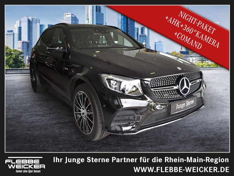 Mercedes-Benz GLC 43 AMG 4M+NIGHT-P.+AHK+360°+SITZKLIMA+LEDILS, Jahr 2017, Benzin