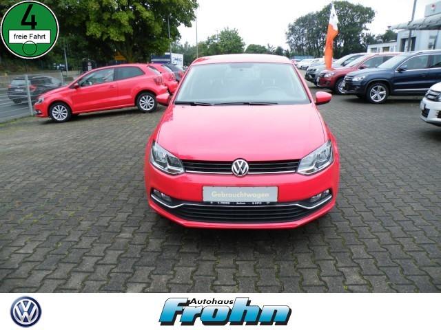 Volkswagen Polo Allstar 1.0 Klima Einparkhilfe Fenster el., Jahr 2016, Benzin