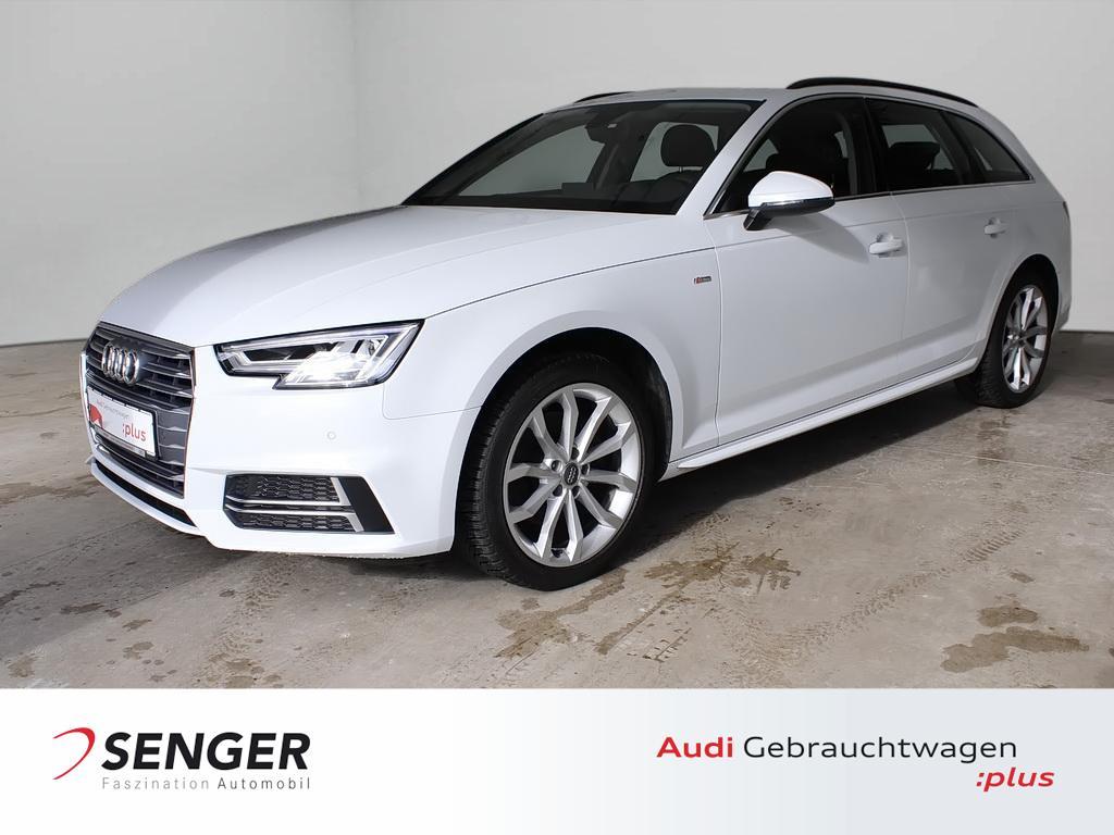 Audi A4 Avant 2.0 TFSI Navi S line Business Stadt LED, Jahr 2018, Benzin