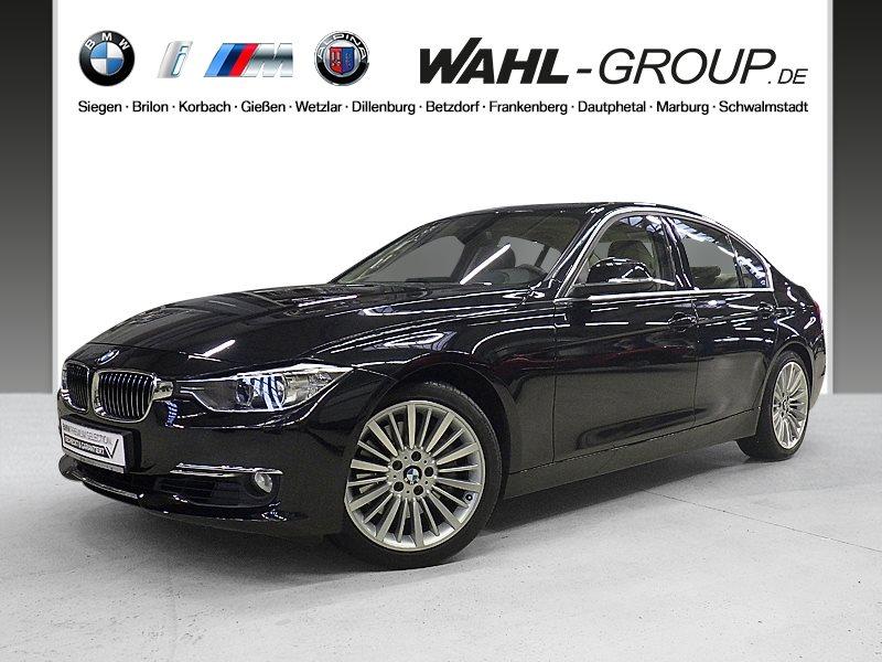 BMW 335i Luxury Line Head-Up Xenon Surroundview RFK, Jahr 2012, petrol
