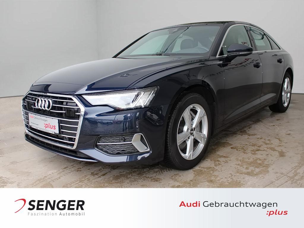 Audi A6 Limousine Sport 45 TDI Leder AHK Pano ACC LED, Jahr 2020, Diesel