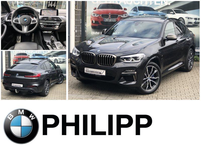 BMW X4 M40d HUD St.hz.AHK DAB h&k DA+ Pano PA, Jahr 2020, Diesel