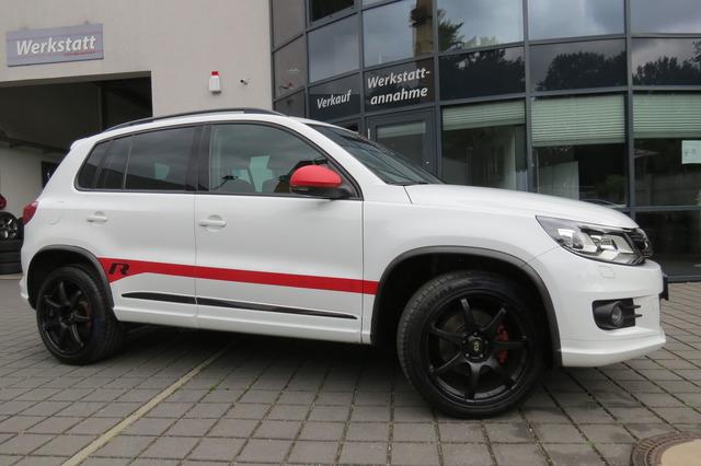 Volkswagen Tiguan 2.0 TDI 4Motion R Line Pano/Kam/19Zoll/Na, Jahr 2016, Diesel