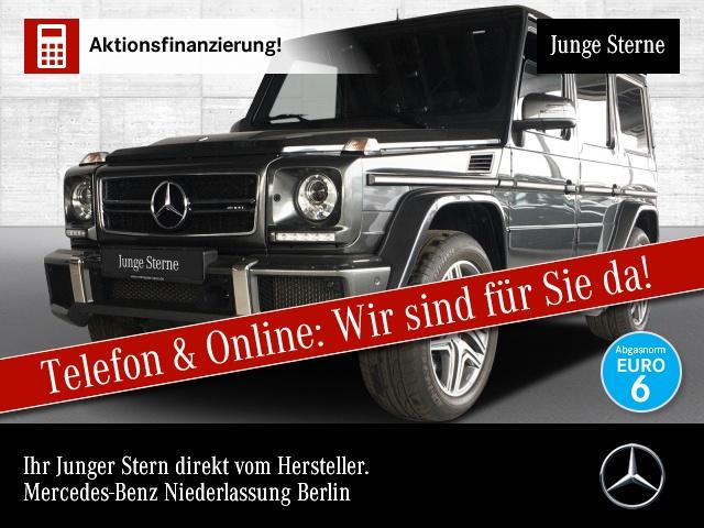 Mercedes-Benz G 63 AMG designo Exkl-Paket Stdhzg Harman Distr., Jahr 2017, Benzin