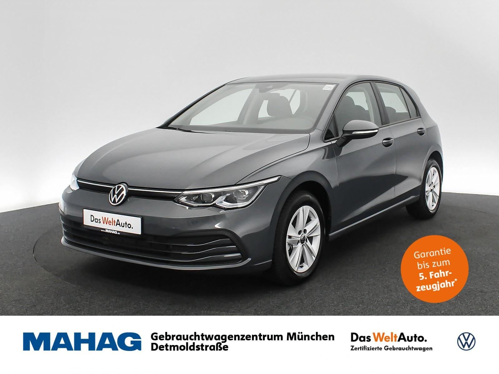 Volkswagen Golf VIII LIFE 1.5 TSI NaviPro IQ.Light DigitalCockpit AppConnect Sprachbed. DAB+ 6-Gang, Jahr 2020, Benzin