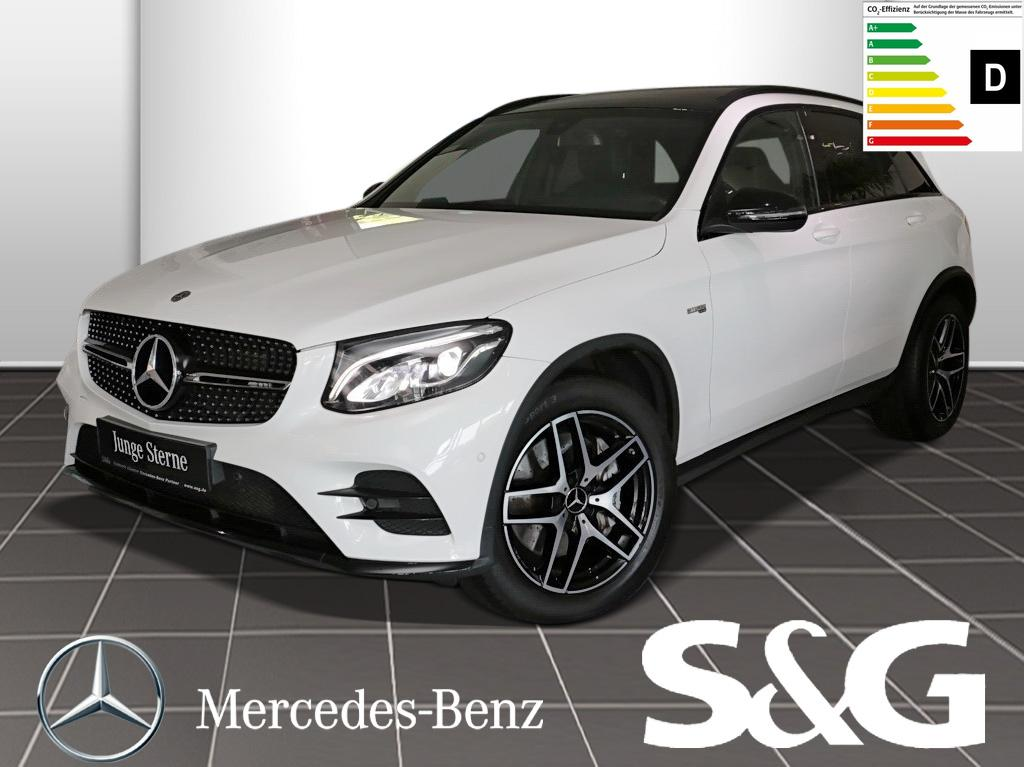 Mercedes-Benz GLC 43 AMG 4MATIC Navi/LED/AHK/Sitzhzg./Tempomat, Jahr 2017, Benzin