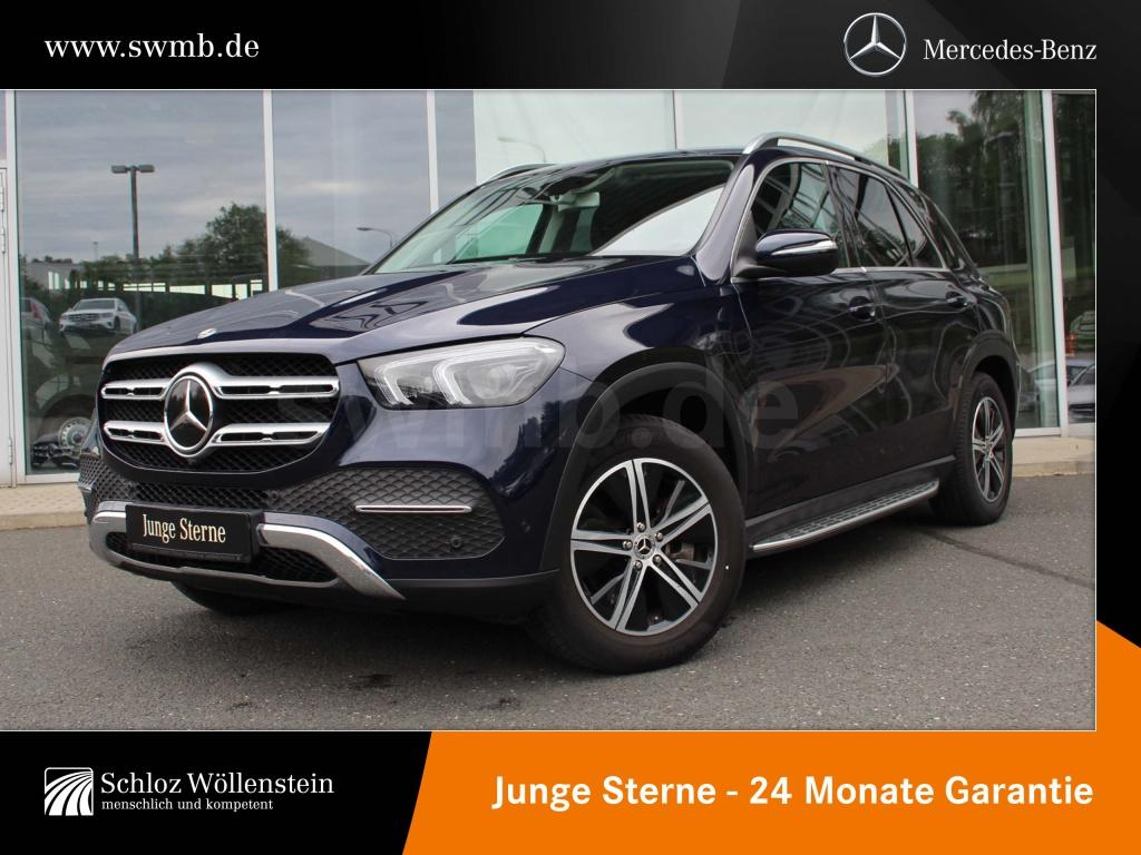 Mercedes-Benz GLE 300 d 4M Burmester/Fahrassist/360°/AHK/LED, Jahr 2019, Diesel