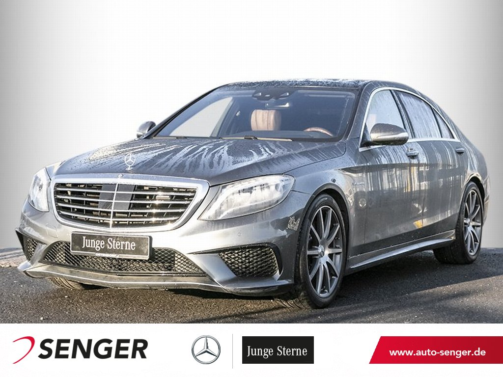 Mercedes-Benz S 63 AMG 4M lang*Driver`s*Panorama*Distronic*LED, Jahr 2015, Benzin