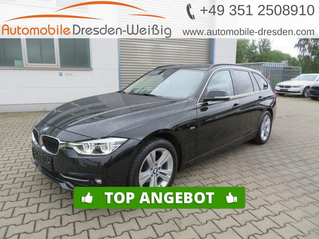 BMW 318 d xDrive Sport Line*Navi*DAB*PDC*LED, Jahr 2017, Diesel