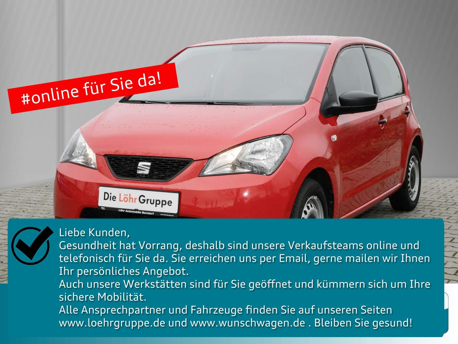 Seat Mii 1.0 Reference 4You *Klima*4-Türer*Radio-CD*, Jahr 2015, Benzin
