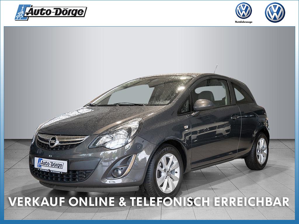 Opel Corsa D TSI ENERGY+LICHT/REGENSENSOR+KLIMA+NEBELSCHEINWERFER, Jahr 2014, Benzin