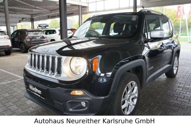 Jeep Renegade Limited 140PS Benzin *Navi, SHZ, PDC*, Jahr 2017, petrol