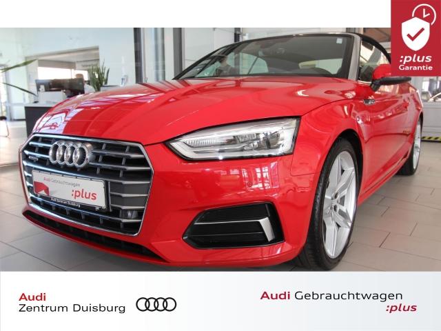 Audi A5 Cabriolet 40 TDI quattro sport Xenon Navi DAB, Jahr 2019, Diesel