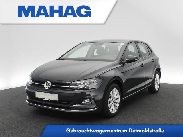 Volkswagen Polo 1.6 TDI Highline Sitzhz. ParkPilot FrontAssist 16Zoll 5-Gang, Jahr 2019, Diesel