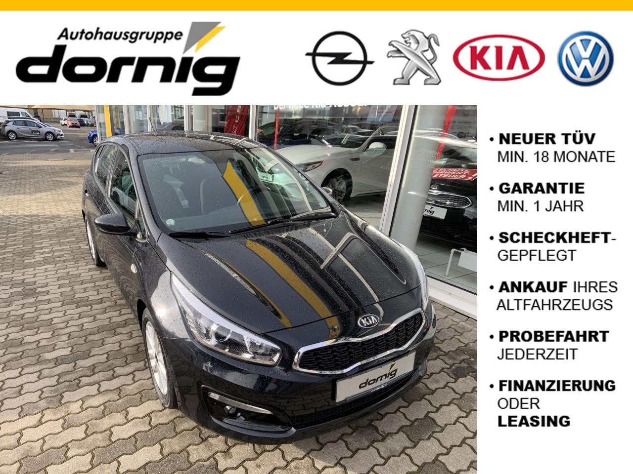 Kia Ceed Edition 7,EPH, Sitzh.,NS, Jahr 2016, Benzin