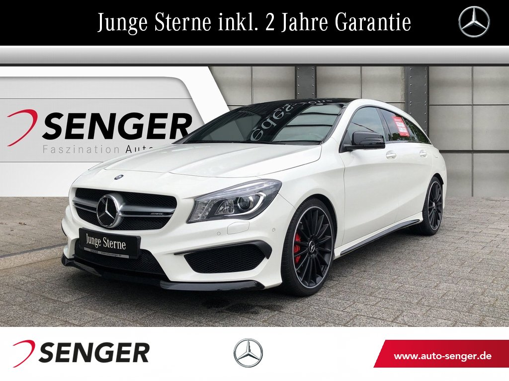 Mercedes-Benz CLA 45 AMG 4MATIC SB+RFK+Comand+Distronic+, Jahr 2015, Benzin