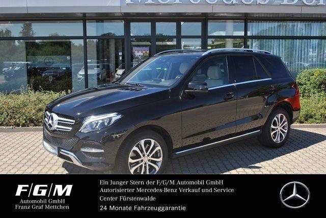 Mercedes-Benz GLE 500 4M Comand/ILS/PTS/Airmatic/Leder beige, Jahr 2016, petrol