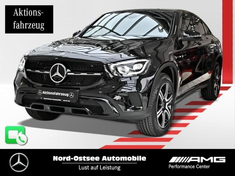 Mercedes-Benz GLC 300 de 4m Coupé NIGHT MULTIBEAM 360° SHD AHK, Jahr 2020, Hybrid_Diesel