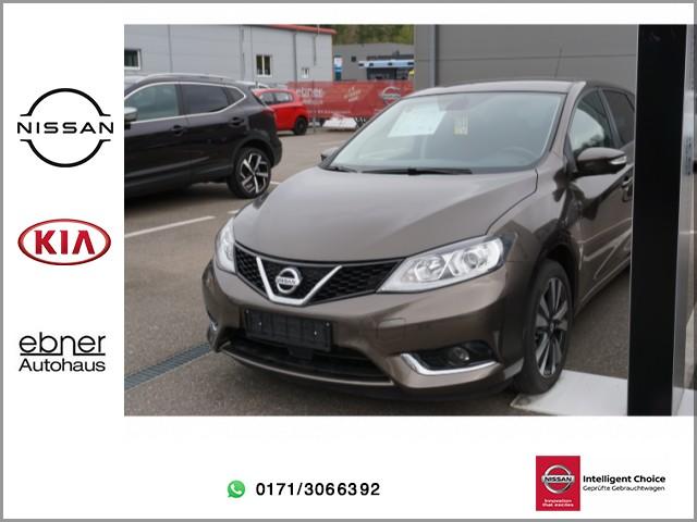 Nissan Pulsar 1.2DIG-T Acenta | Navi | Rückfahrkamera | Sitzheizung, Jahr 2015, Benzin