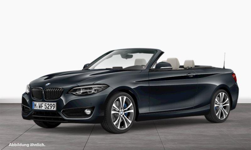 BMW 230i Cabrio Sport Line M Sportbr. HK HiFi DAB, Jahr 2020, Benzin