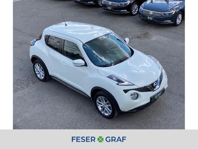 Nissan Juke 1.2 DIG-T Acenta Navi-Cam-AHK-GRA-Bluetooth-, Jahr 2014, Benzin
