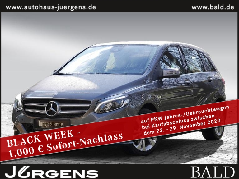 Mercedes-Benz B 220 d Urban/Comand/LED/Park-Pilot/L&S/SHZ/17', Jahr 2016, Diesel
