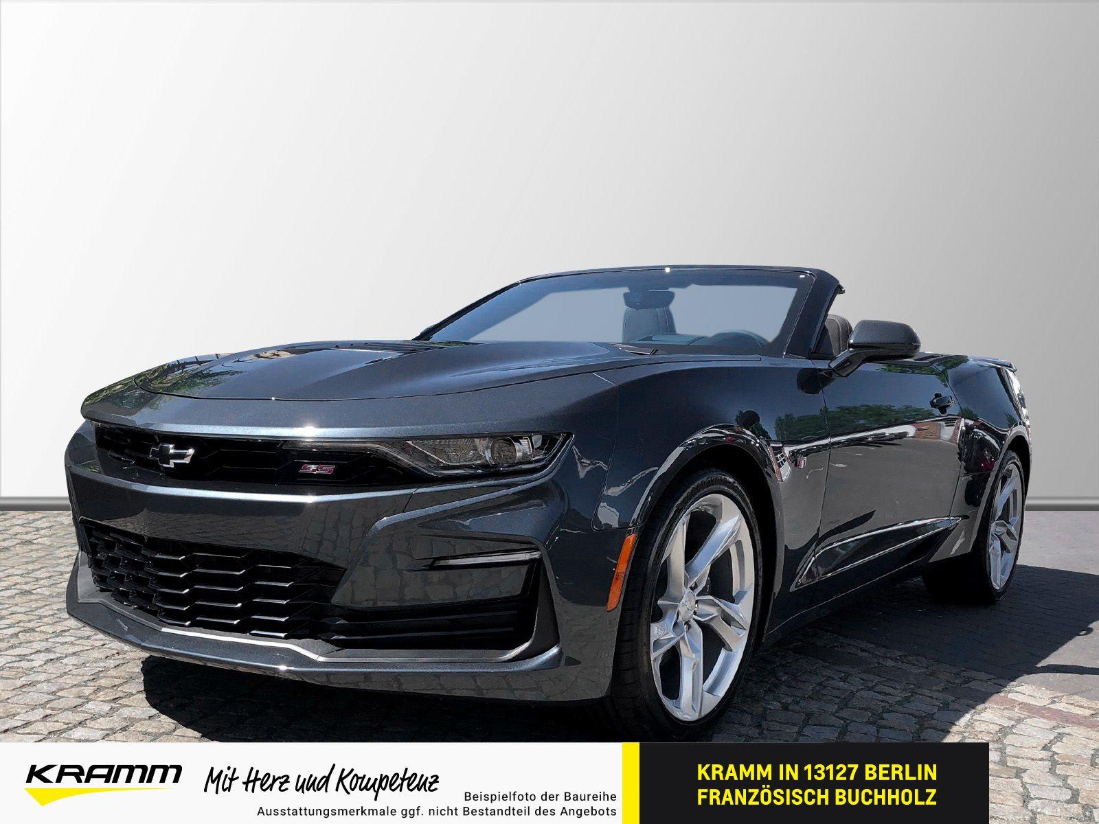 Chevrolet Camaro V8 CABRIO 6.2L AT10 Klappenauspuff, Jahr 2021, Benzin
