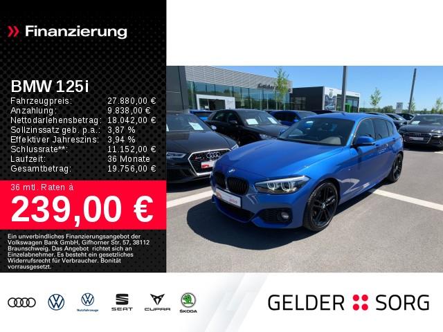 BMW 125i Edition M Sport Shadow / Navi, LED, Jahr 2019, Benzin
