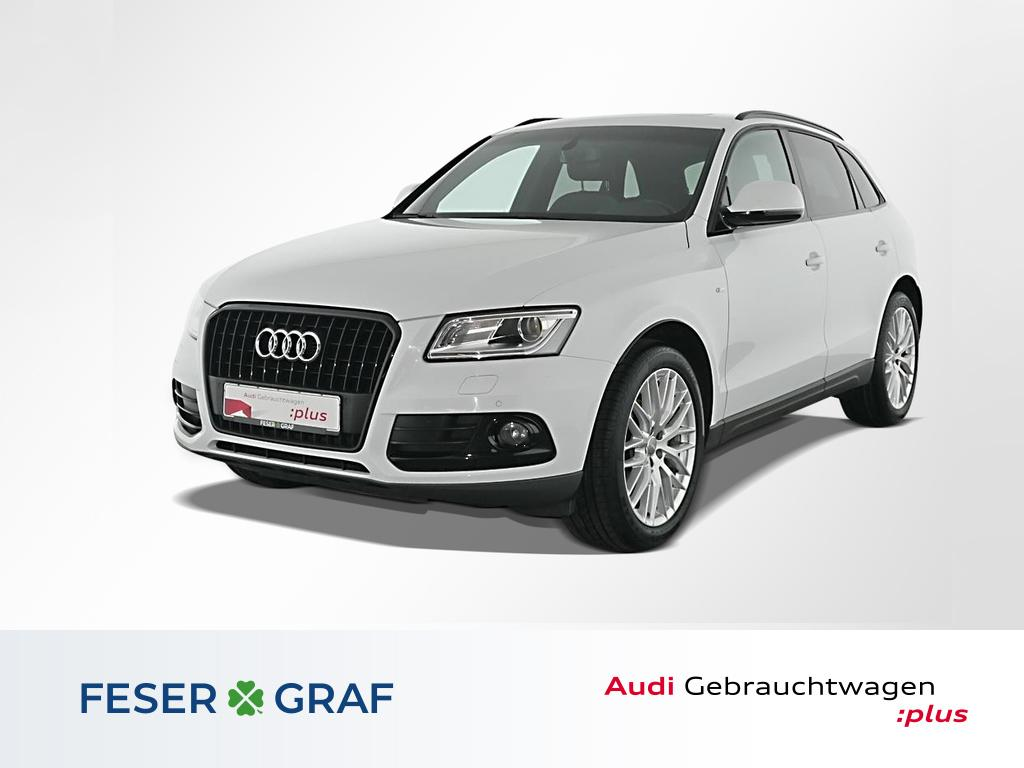 Audi Q5 2.0 TDI S tronic S Line Navi,Leder,Xenon,Pano, Jahr 2017, Diesel