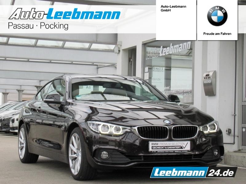 BMW 430i xDrive Coupé AHK/NAVI/LED 2 JAHRE GARANTIE, Jahr 2018, Benzin