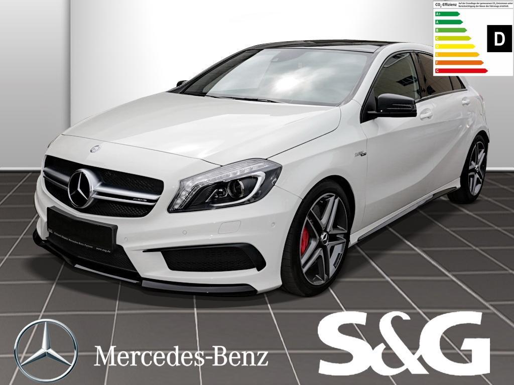 Mercedes-Benz A 45 AMG 4MATIC RüKam./PanoDach/Navi/Sitzheizung, Jahr 2014, Benzin