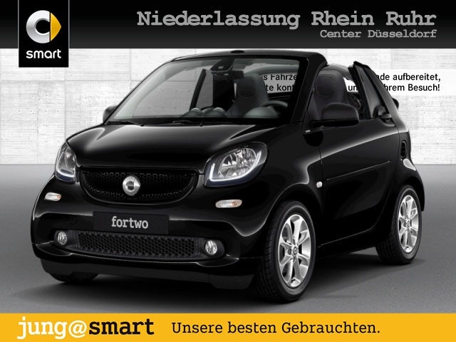 smart fortwo cabrio 52kW passion DCT cool&Media LED, Jahr 2018, Benzin